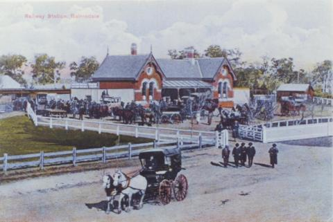 Railway Station, Bairnsdale