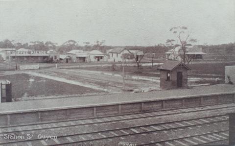 Ouyen Railway Station