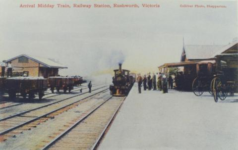 Rushworth Railway Station