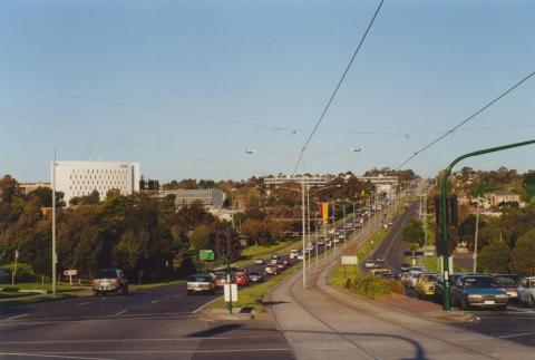 Burwood Highway and Deakin University, 2000