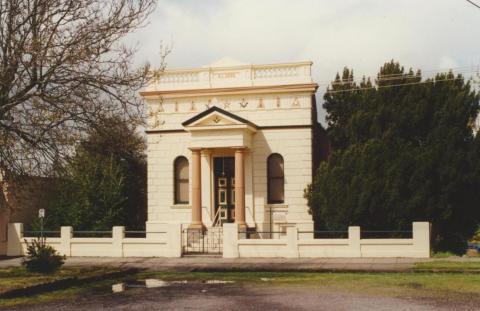 Havilah Lodge, Creswick, 2000