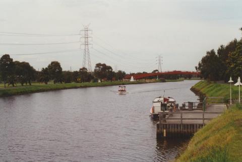 Mooring, Maribyrnong River Pipeworks Park, 2000