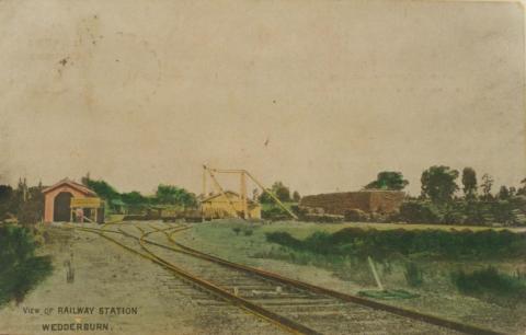 Wedderburn Railway Station, 1907