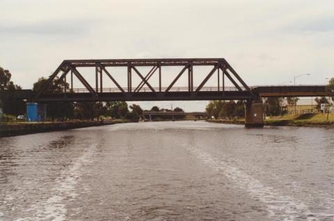 Railway Bridge, Maribyrnong River, 2000