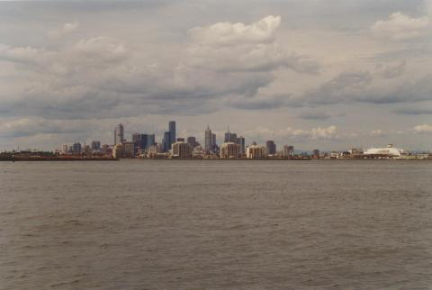 Port of Melbourne from Hobsons Bay, 2000