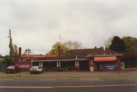 Mineral Springs Hotel, Spargo Creek, 2000