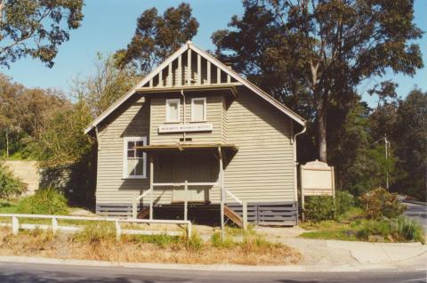 Warrandyte Mechanics Institute, 2000