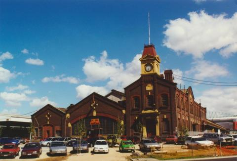 Railways Goods Shed, Docklands, 2000