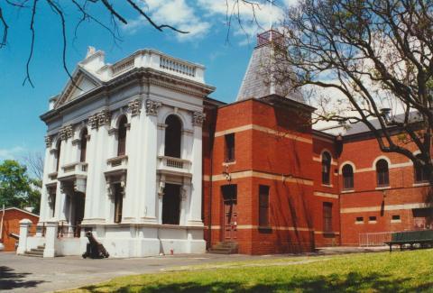 Flemington and Kensington Town Hall, Bellair Street, 2000