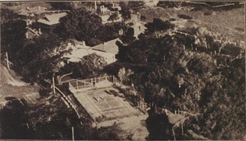 The house with the country club atmosphere, Mt Eliza, 1918