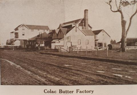 Colac Butter Factory, 1911
