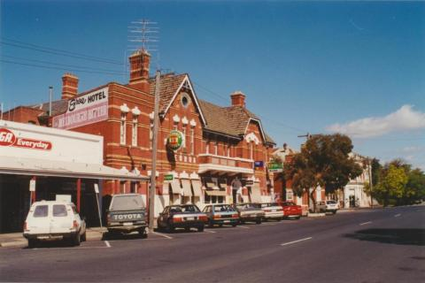 Euroa Hotel opposite the railway station, 2001