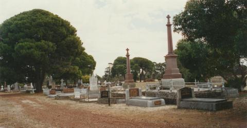 Runnymede cemetery, 2002