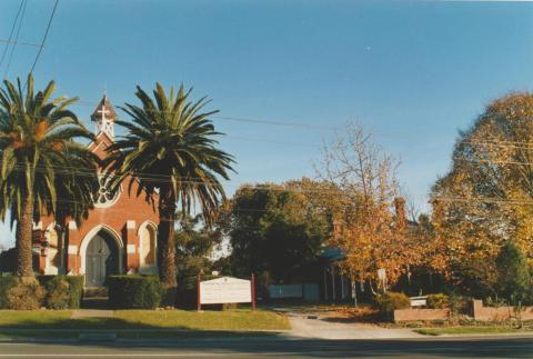 Lutheran Church, Victoria Street, Doncaster, 2002