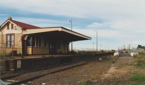 Old Sydenham Station (Watergardens trains enclosure on it), 2002