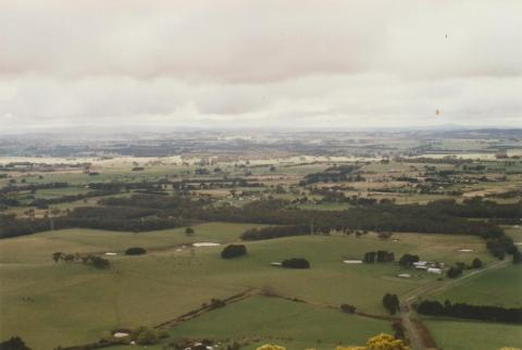 View to Yendon from Mount Buninyong, 2002