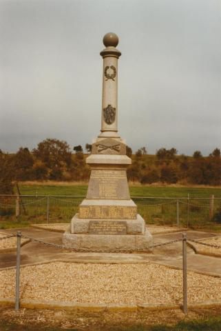 Wickliffe War Memorial, 2002
