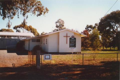 Invergordon Uniting Church, 2003