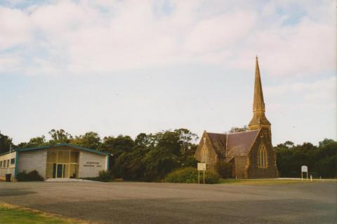 Rokewood hall and Uniting Church, 2004