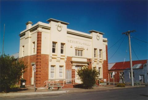 Hopetoun Memorial Hall, Austin Street, 2005