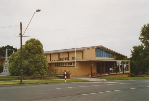 Cobden civic centre, 2006