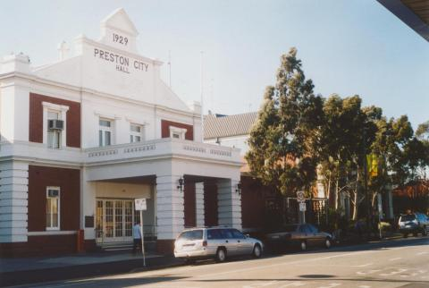 Preston City Hall, Bell Street, 2006