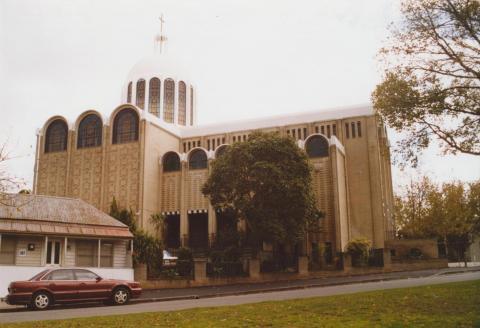 Ukranian Catholic Cathedral, Dryburgh Street, North Melbourne, 2007