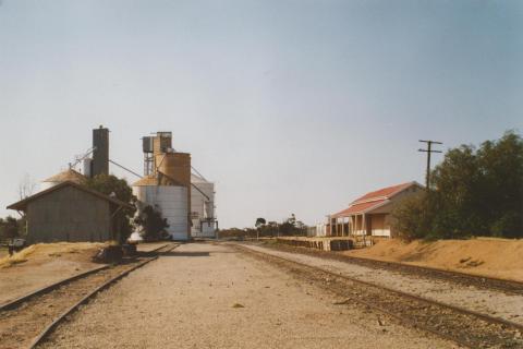 Manangatang railway station, 2007