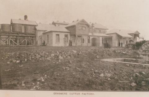 Grassmere butter factory, 1905