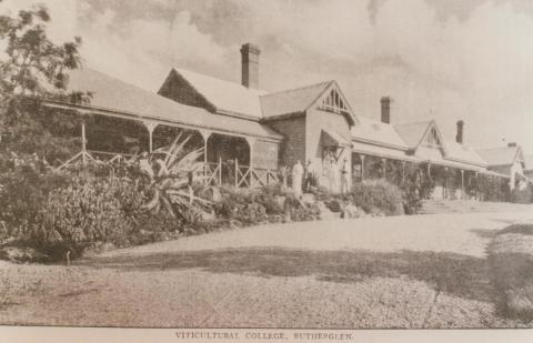 Viticultural College, Rutherglen, 1910