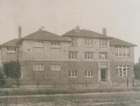 Colac West primary school, Colac, 1937