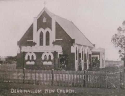 Derrinallum Presbyterian Church, 1914