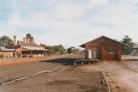 Railway station, Bridgewater, 2010