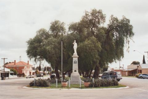 War Memorial, Quambatook, 2010