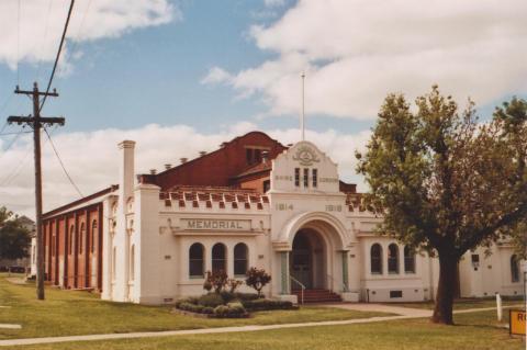 Former Gordon Shire Hall, Boort, 2010