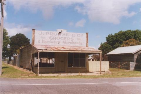 Former Grocers Store, Cressy, 2010