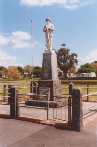War Memorial, Beeac, 2010