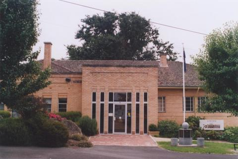 Former Grenville Shire Office, Linton, 2011