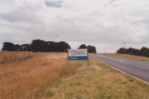 Welcome Sign, Southern Grampians Shire, 2011