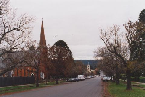 Uniting Church and Post Office, Daylesford, 2011