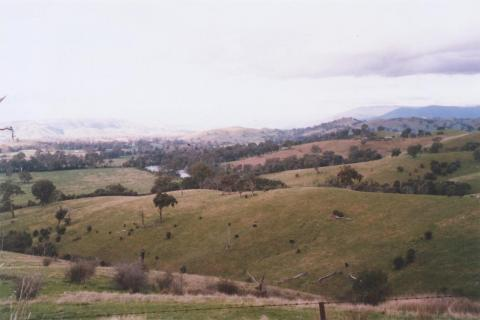 Easterly view, Yea, 2011