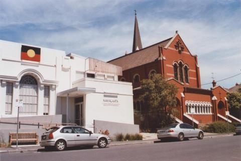 Former Court House and Catholic Church, Northcote, 2012