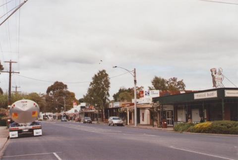 Main Street, Mirboo North, 2012