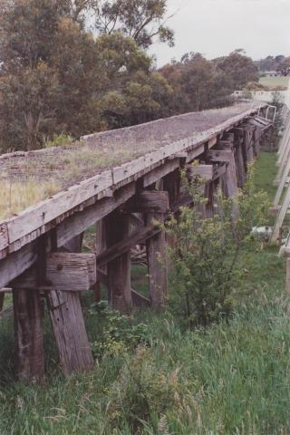 Former Railway Trestle Bridge, Meeniyan, 2012