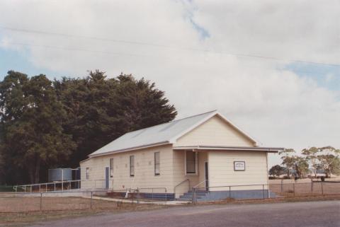 Memorial Hall, Irrewillipe, 2013
