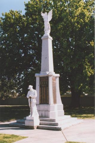 War Memorial, Numurkah, 2011