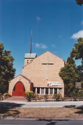 Anglican Church, Mont Albert North, 2012