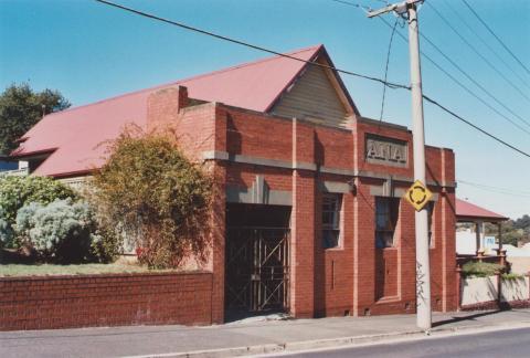 ANA Hall, Ballarat East, 2012