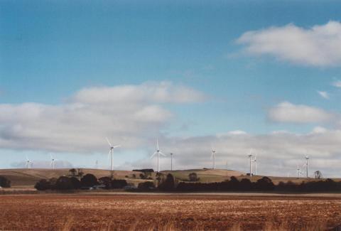 Southern Part of Wind Farm, Waubra, 2012