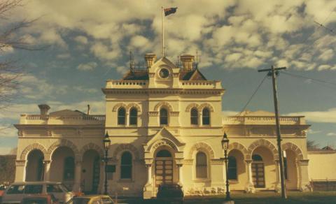 Town Hall, Eaglehawk, 1980